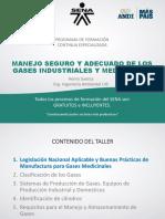Buentas Prácticas de Producción, Manejo y Almacenamiento Seguro de Los Gases Industriales y Medicinal