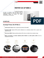 Printer 3d Up Mini 2 Z Spot Media SRL