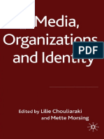 Chouliaraki, L and Morsing, M - Media, Organizations and Identity