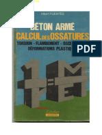 Béton Armé_calcul Des Ossatures
