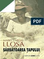 Sarbatoarea Tapului - Mario Varga Llosa.docx