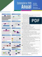 Protótipo Calendário ANUAL 2019