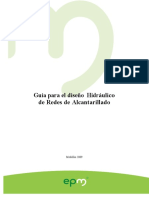 Guia DisenoHidraulico Redes Alcantarillado