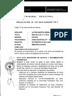Resolución N° 107-2014-SUNARP-TR-T