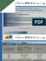 Presentación Directiva 10 de 2018 Mecanismo PONAL