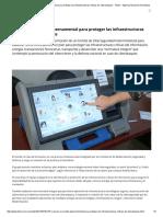 Comité gubernamental para proteger las infraestructuras críticas - Télam.pdf