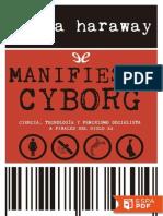 Manifiesto Cyborg - Donna Haraway
