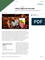 Gil Calvo E (2017) Populismo Posverdad y lógica de mercado | Opinión | EL PAÍS