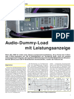 ADL-9000 - Audio Dummy Load