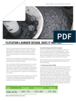 3. Flotation Launder Design