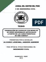Tesis_Redes Neuronales_caudales_UNCP