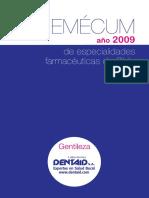 VADEMECUM-2009 Espceialidades Chile