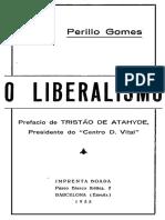 Perillo Gomes O Liberalismo