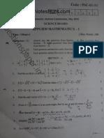 Appl Maths 1 May 2010 New