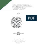 UAD - Ekstrak Etanol Buah Ceplukan - Farmasi