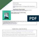 Preface_ Spatial Accuracy in Remote Sensing
