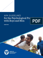 Boys Men Practice Guidelines
