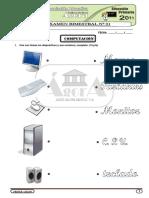 COMPUTACION - Examen Bimestral