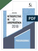 Retrospectiva jurisprudencial 2018