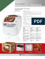 Cadence Nosso Pão PAD530 - Manual - 3.pdf