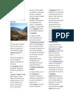 La Sierra o Región Andina