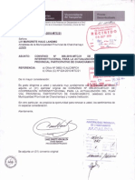 Convenio Nº 055-2010-MTC-21. - Firmado por ambas partes.