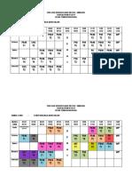 Jadual Waktu Pml 2018