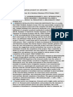 Chemistry Investigatory Project on Antacids