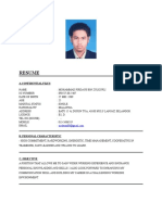Resume Mohammad Firdaus Zulkufli