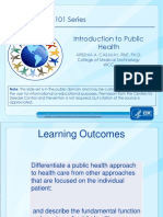 1introduction to Public Health