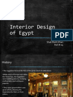 Interior Design of Egypt
