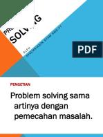 Bab 7 Problem Solving