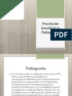 Provincia Geológica Patagonia. Geologia Regional