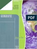 Manual geografie umana clasa a X a Cluj