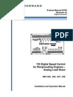 723 digital speed controller