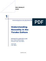 Sexuality in the Yoruba Culture