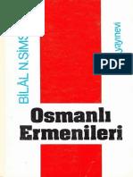 Bilal Şimşir - Ingiliz Belgelerinde Osmanlı Ermenileri 1856 - 1880