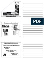 Medicina e Traumatologia Do Hoquei Em Patins 2008 - Nivel III