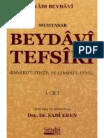 Kadı Beydavi - Tefsir - 1