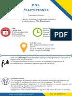 PNL Practitioner - Informazioni Logistiche IES Set 18