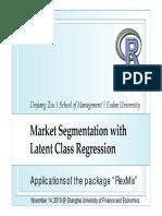 China R 2010 Market Segmentation With Latent Class Regression