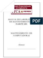 Lab Oratorio Mantenimiento de Hardware