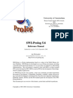 SWI Prolog 5.6 reference manual