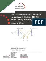 Capacity Impacts
