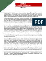 FILARETE - Trattato Di Architettura