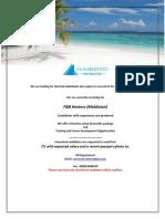 Job Maldives 012019