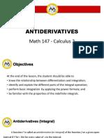 CO1 Antiderivatives
