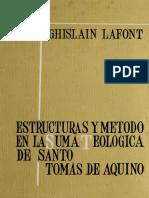 Estructuras y Metodo En la Suma Teologica de Santo Tomas de Aquino - Ghislain Lafont.pdf