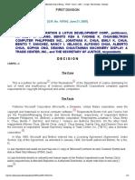 3. NBI-Microsoft Corp vs Hwang _ 147043 _ June 21, 2005 _ J. Carpio _ First Division _ Decision