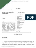 11 People vs Larraaga _ 138874-75 _ July 21, 2005 _ Per Curiam _ en Banc _ Resolution